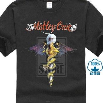 dfd62347295b Nuevo Motley Crue de la banda de Rock logotipo leyenda de la música de los  hombres negro T camisa tamaño S a 3Xl