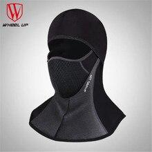 WHEEL UP Bicycle Breathable  hermal Fleece Hat headset Winter Warm Full Face Mask Neck Cap Cycling Windproof Dustproof Masks недорого