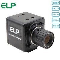 Aluminum 1080P Hd 30fps 60fps 120fps Cmos Ov 2710 8mm Lens Mini USB Webcam For