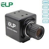 Aluminum 1080P Hd 30fps 60fps 120fps Cmos Ov 2710 8mm Lens Mini USB Webcam For