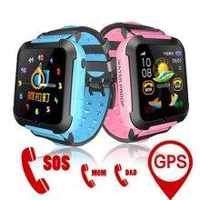 Купить с кэшбэком E7K Kids Smart Watch GPS Baby Tracking SOS Call Location Finder Waterproof with Remote Camera Listening Monitor Sport Bracelet