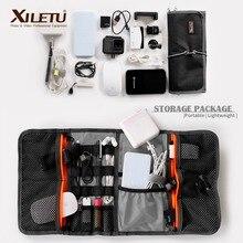 XILETU LP 9 étanche câble de données sac de stockage sacs hydrofuge fil stylo batterie externe lentille Kit de filtre pour accessoires numériques