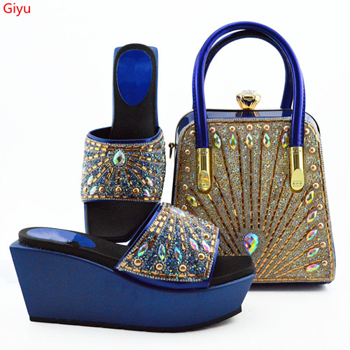nice looking Shoes with Matching Bags for Wedding Women Shoes and Bag to Match for Party Nigerian Shoes and Bag Set! HVC1-5nice looking Shoes with Matching Bags for Wedding Women Shoes and Bag to Match for Party Nigerian Shoes and Bag Set! HVC1-5