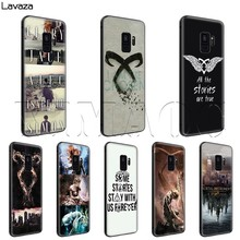 Lavaza Die Mortal Instruments City Of Bones Fall für Samsung Galaxy S6 S7 Rand J6 S8 S9 S10 Plus A3 a5 A6 A7 A8 A9 Hinweis 8 9(China)