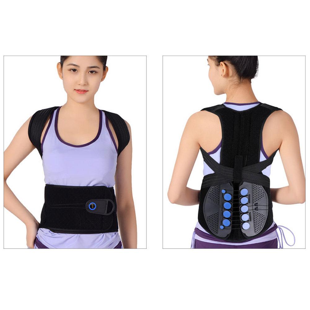 5bc97a823 1Pcs Pulley Posture Corrector Back Braces Shoulder Waist Lumbar Support  Belt Humpback Prevent Body Straighten Slouch. sku  32961929698