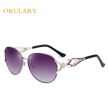 Mirror Oval Women Sunglasses  2