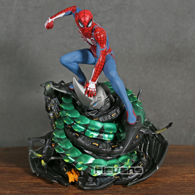 Marvel Limited PS4 Spider Man Spiderman Collectors Edition Statue Loose Figure Model Toy