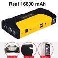 متعددة الوظائف الانتقال كاتب 600A 16800mAh عالية الطاقة شاحن بطارية مزدوج USB سيارة الانتقال كاتب الداعم جهاز بدء السيارة