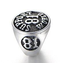 Здесь можно купить   Fashion jewelry ring, The digital 81 gothic steel men