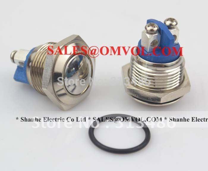 R16-504ad 4 Булавки Self-замок кнопочный переключатель с подсветкой