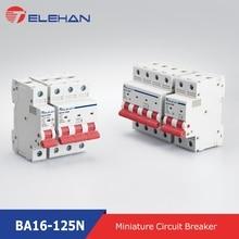 10KA Breaking Capacity MCB, new design 80A,100A,125A,one Modular Miniature Circuit Breaker, 10KA Breaker Automatic, CB protector new lv431113 circuit breaker compact nsx250b tmd 125a 3 poles 3d