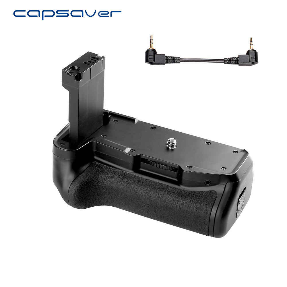 capsaver Multi power Battery Grip Holder for Canon 800D Rebel T7i 77D Kiss X9i Camera Professional