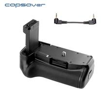 Capsaver Multi-puissance Batterie Holder Grip pour Canon 800D Rebelles T7i 77D Baiser X9i Caméra Professionnel Vertical Batterie Poignée