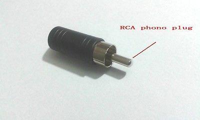 все цены на  10 pcs 3.5 mm Female Mono Jack to RCA Phono Male Plug Audio  Convertor  онлайн