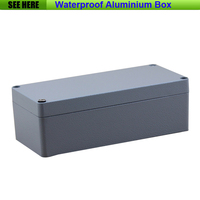 Free Shipping 1piece Lot Top Quality 100 Aluminium Material Waterproof IP67 Standard Aluminium Metal Box 175
