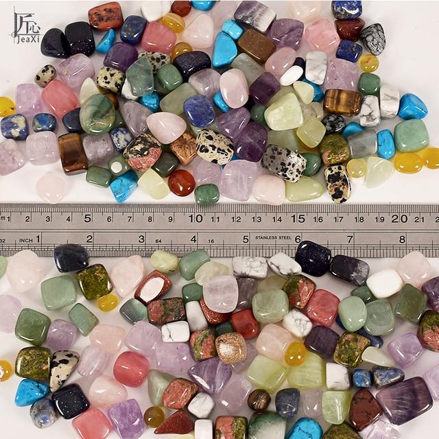 Assorted Tumbled Chips Stone Crushed Crystal Quartz Pieces Irregular Shaped Stones 2