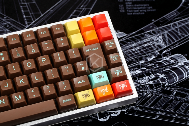xd84 75% eepw84 Custom Mechanical Keyboard  Supports TKG-TOOLS Underglow RGB PCB  programmed kle Kimera core Lots of layouts