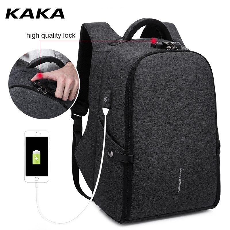 KAKA Brand New Design Men School Backpack Large Capacity for15.6