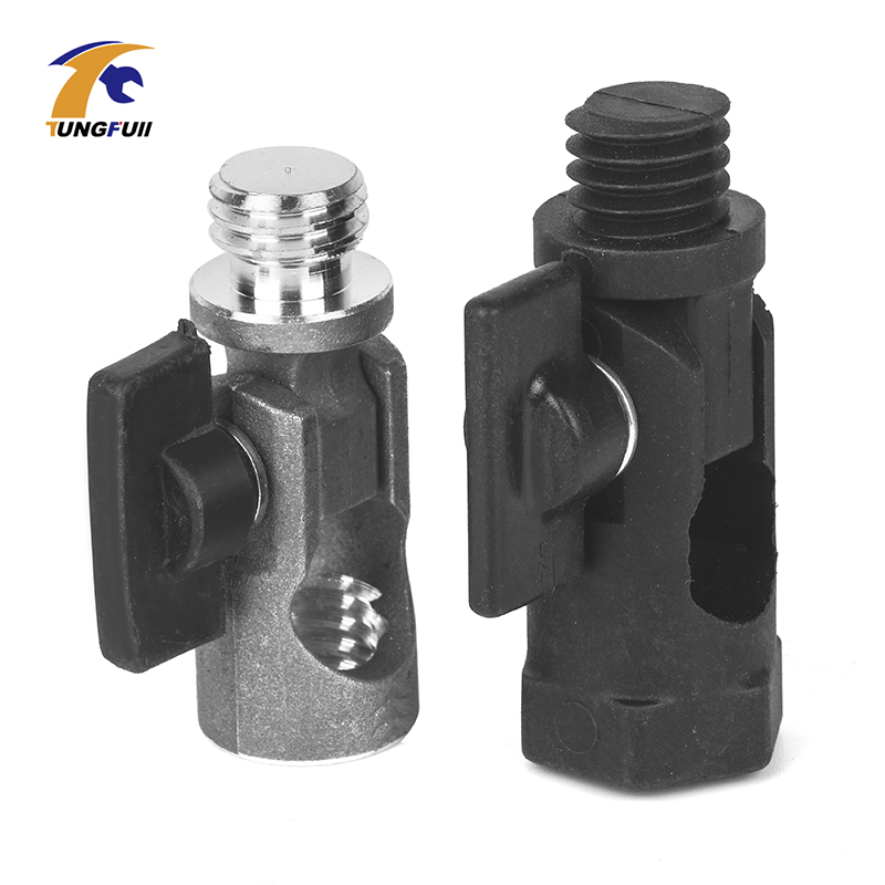 5/8 Inch Tripod Adapter For Laser Lever Tripod 180 Degree Aluminum Alloy Tiltable Adapter Thread Rotary Joint Adapter