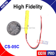 Audio pick up Adjustable Sound Monitor CCTV Microphone Mini Mic CS-05C For Security DVR The CCTV Accessories
