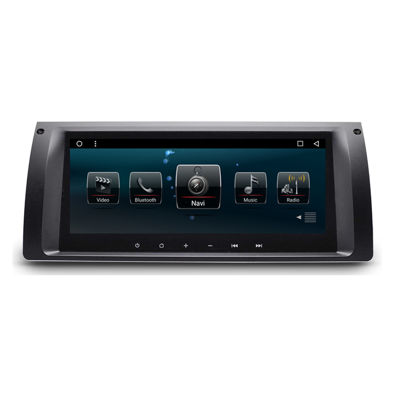 8.8 Android Car Radio DVD GPS Navigation Central Multimedia for BMW 5 Series X5 E39 E53 M5 7 Series E38 цена