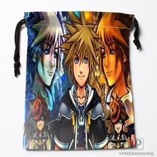 Custom Kingdom Hearts Drawstring Bags Printing Travel Storage Mini Pouch Swim Hiking Toy Bag Size 18x22cm#180412-11-81