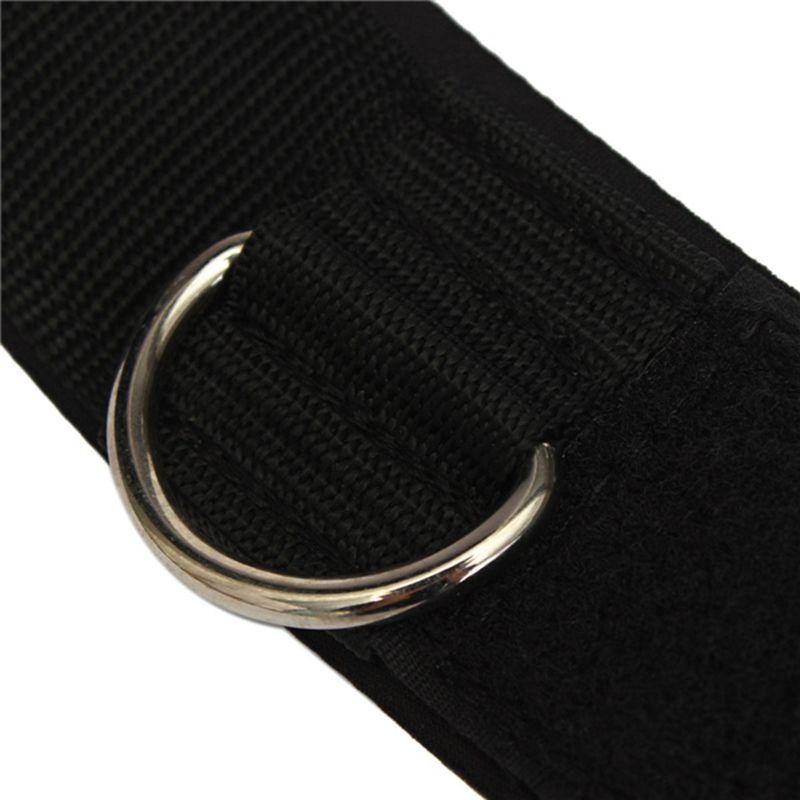 İdman Fiziki Təlimi Təchizatı D-ring Ankle Anchor kayış - Fitness və bodibildinq - Fotoqrafiya 6