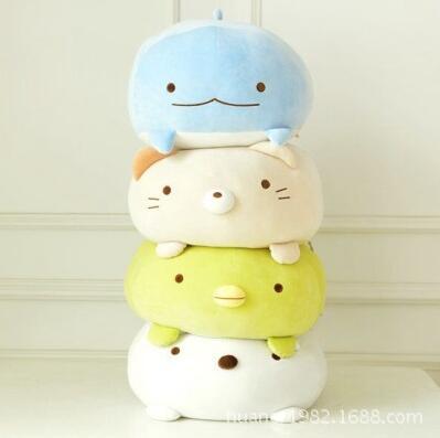 Japanese Animation Sumikko Doll San X Corner Bio Pillow Cute Cartoon Plush Toys Soft Pillow 4