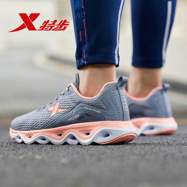 881218119517 xtep кроссовки 2019 летние новые ударные whirl технологии дышащие легкие спортивные женские кроссовки