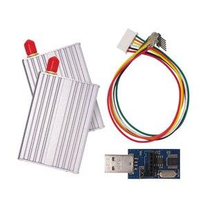 Image 2 - 2 компл./лот SV612 1 км 868 МГц RS485 порт 20dBm беспроводной Радиочастотный пульт дистанционного управления приемник модуль комплект