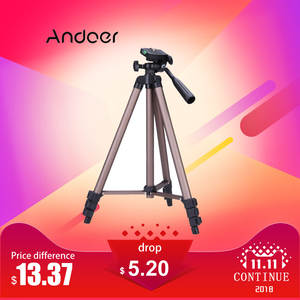 Andoer WT3130 Load 2.5 kg tripod stand for Canon Nikon Camcorder Sony DSLR Camera