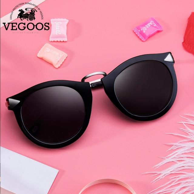 6967a5956d6 VEGOOS Vintage Fashion Round Arrow Style Polarized Sunglasses for Women  Mirrored Lenses UV400 Protection Ladies Shades  6107