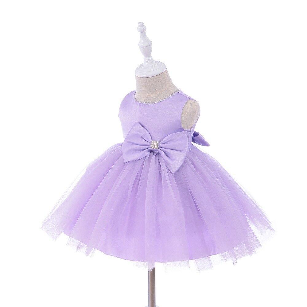 0-1 jaar verjaardag peuter meisje doop jurk bruiloft kostuums - Babykleding - Foto 1