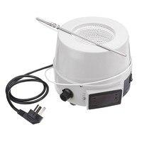 220V 250/500ml 디지털 자기 온도 조절기 난방 맨틀 교반기 믹서 화학 실험실 장비