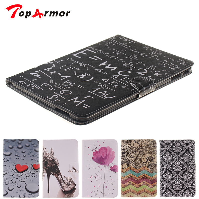 TopArmor Fashion Design Formula Case for Samsung GALAXY Tab 4 10.1 T530 T531 T535 Soft Silicon Phone Wallet Back Cases Cover marble vein soft phone back cover case for samsung galaxy note 8 anti knock personality case