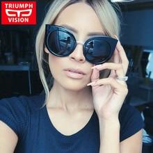 Hot Sale Occident Cat Eye Sunglasses Female Women Brand Designer Sun Glasses For Women New 2016 Style Oculos Gradient lunette