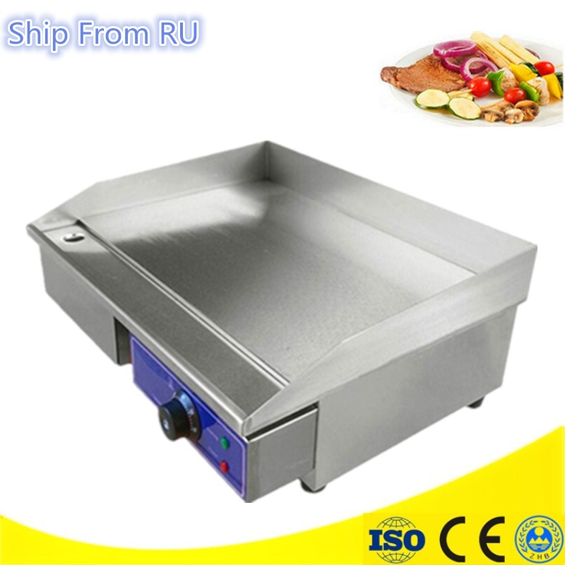 Kitchen Appliance Stainless Steel All Flat Fried Pan Electric Griddle And Electric Grills For Restaurant car front bumper mesh grille around trim racing grills 2013 2016 for ford ecosport quality stainless steel