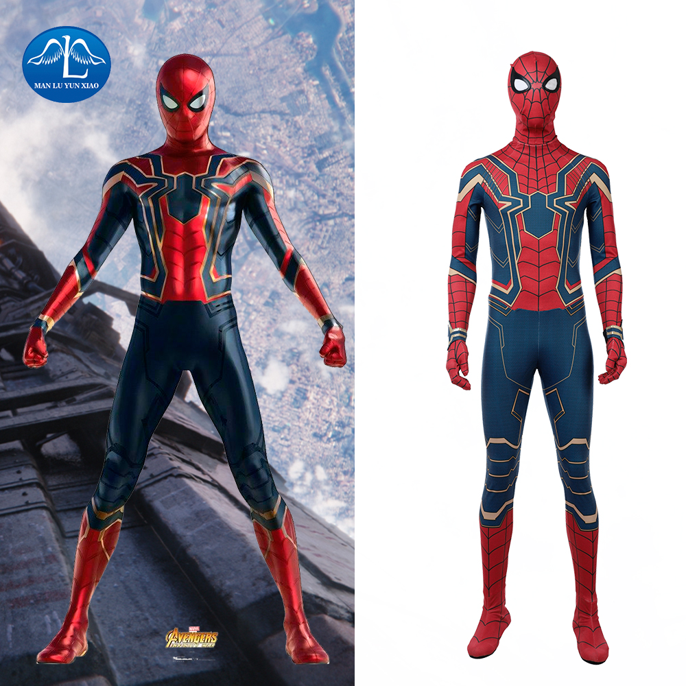 2018 avengers infinity war cosplay spiderman costume halloween