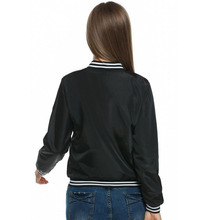 Meaneor Ladies Bomber Fashion and Retro Baseball coat for women Students  Jackets