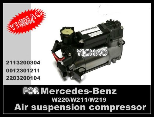 Remanufacturados ORIGINAL para MERCEDES benz W211 W219 W220 Compresor de Suspensión de Aire OE: 2113200304, 2203200104