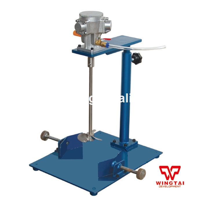 EA500B Air Driven Mixer Agitator 94L Pneumatic Paint Mixing Machine kit engineering pneumatic air driven mixer motor 0 6hp 1400rpm 16mm od shaft