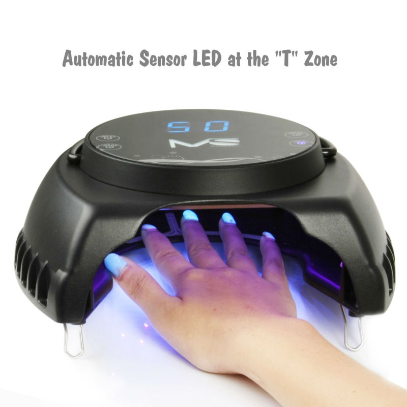 2017 Melodysusie Professional Led Lights Uv Lamp 60w Gel Nail Machine Dry Nails Polish Protection In Form From Beauty Health