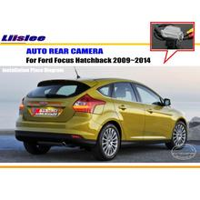 Car Rear View Camera / Back Up Reverse Parking Camera For Ford Focus 2009~2014 License Plate Lamp / HD CCD Night Vision