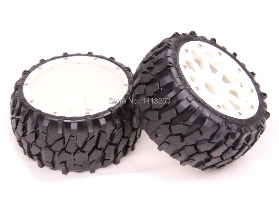 5B High-strength  Nylon Rear  Macadam Wheels set  for baja parts,free shipping 5b high strength nylon rear macadam wheels set for baja parts free shipping