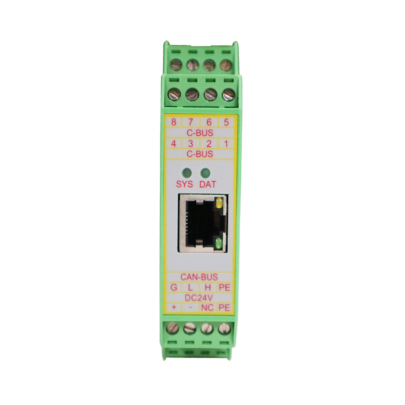 CAN Bus To Ethernet / Modbus TCP Module Gateway GCAN-205