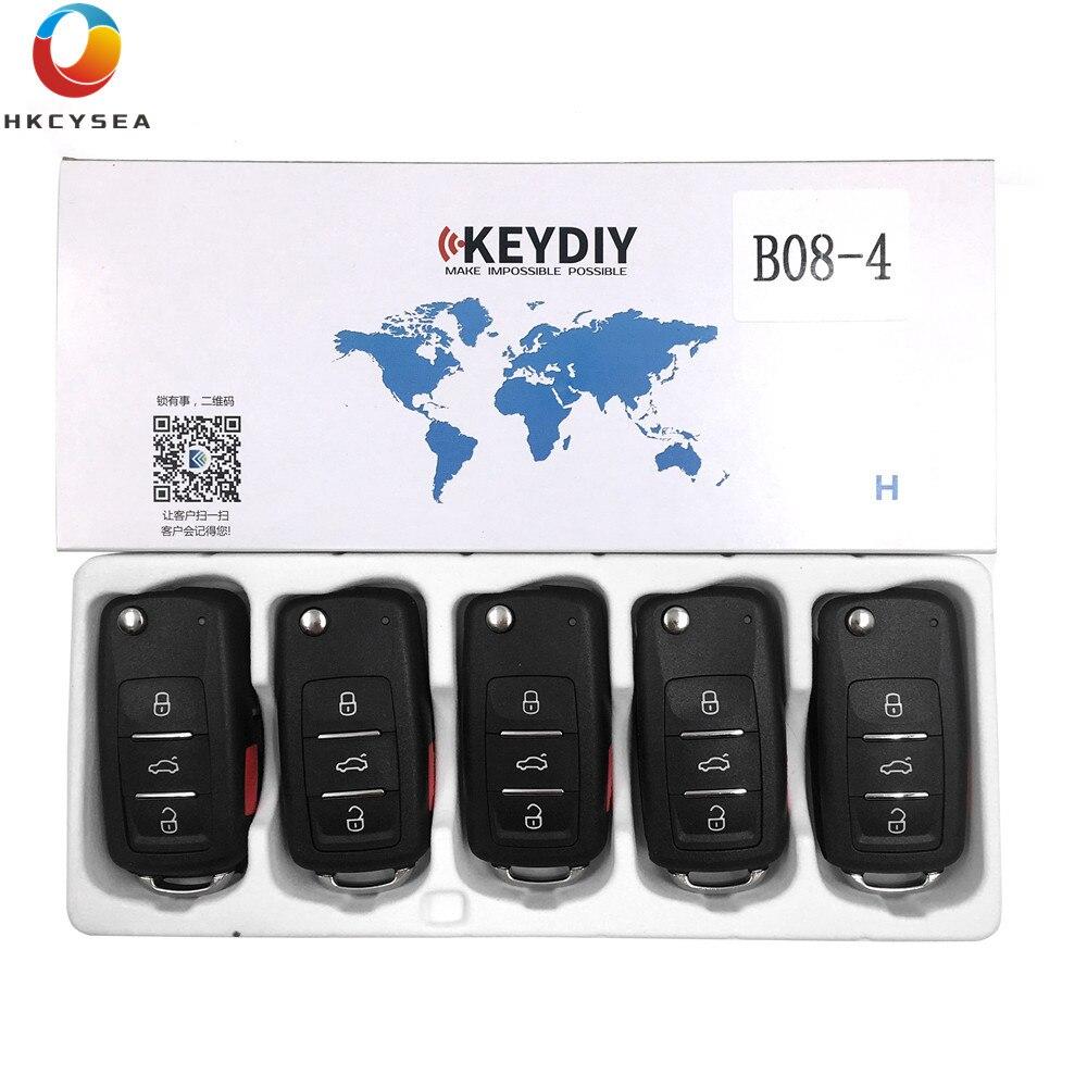 HKCYSEA 5pcs lot Original B Series Remote Control B08 4 KD Remote Key 3 1 Button