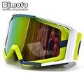 Bjmoto óculos de corrida à prova de vento, óculos de corrida para motocicleta e motocross, à prova de poeira, para área externa, google