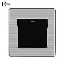 Coswall 1 Gang 1 Way Luxury Light Switch On / Off Wall