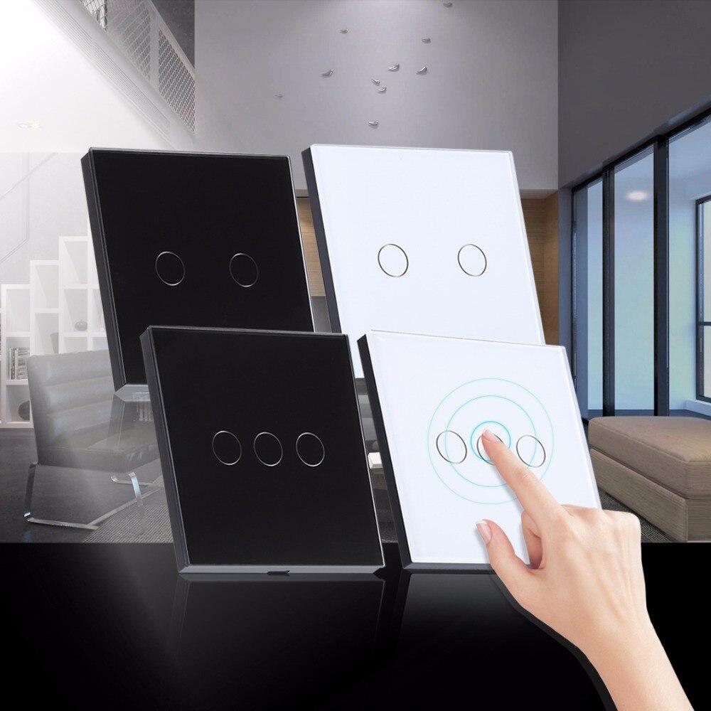 Luz Táctil inteligente Interruptor de Proximidad Interruptor Ligero Casero de 1