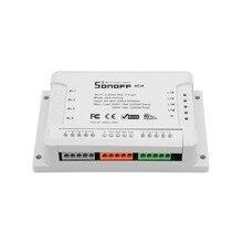 Sonoff 4CH R2 4 Way Wifi Light Switch Electronic Remote Control eWeLink App  Alexa Google Home Voice control